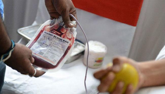 Εθελοντική αιμοδοσία στην Ενορία Περιβλέπτου
