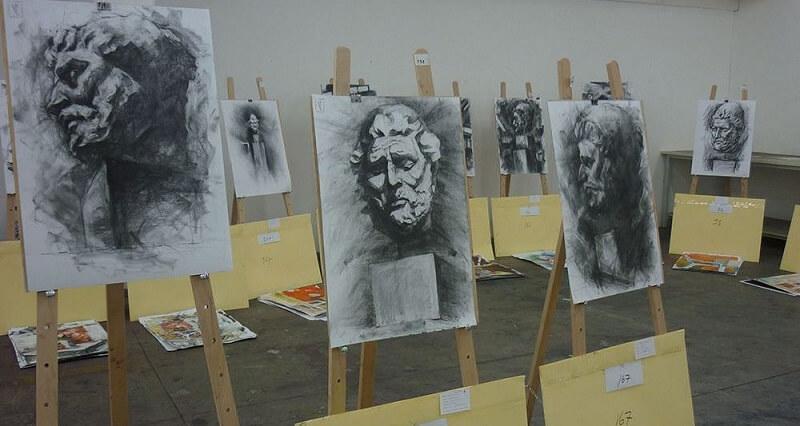 Έκθεση έργων στο Τμήμα Εικαστικών Τεχνών