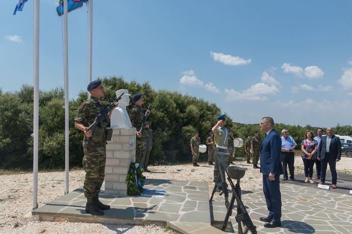 Σε Κόνιτσα κι Ελληνικό ο Υφυπουργός Άμυνας