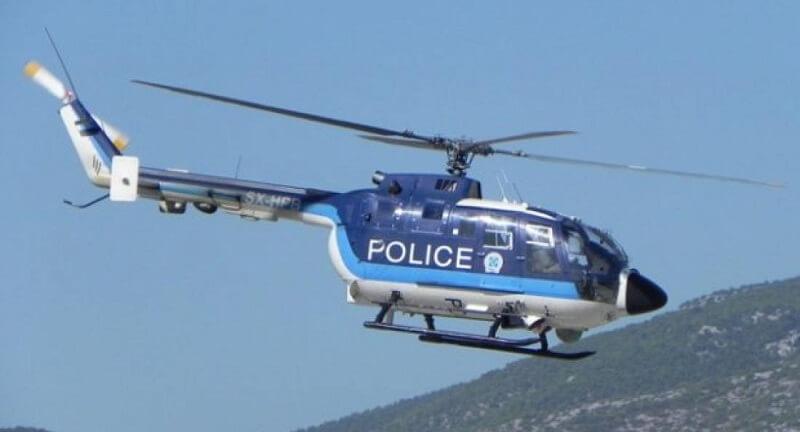 Το ελικόπτερο της ΕΛΑΣ… σάρωσε τα ορεινά Ιωαννίνων και Θεσπρωτίας