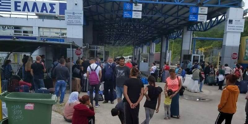 38 χιλιάδες διελεύσεις σε μια βδομάδα από τα ελληνοαλβανικά σύνορα… «Μετακινούμενη υγειονομική βόμβα»
