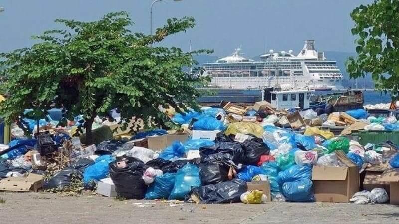 «Μύλος» στη Θεσπρωτία με τα σκουπίδια της Κέρκυρας