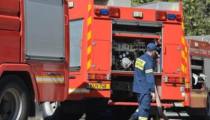 Αναστάτωση στην Εθνική από φωτιά σε ΙΧ
