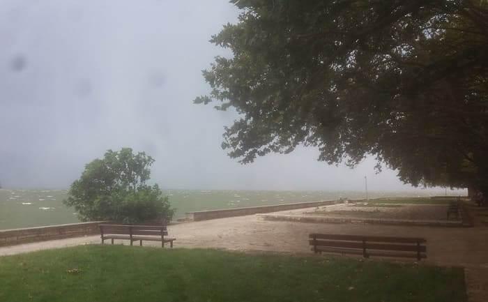 Παραλίμνιος στην… καταιγίδα!
