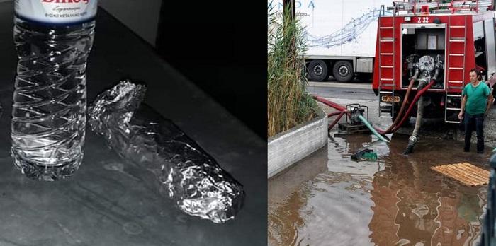Ένα νερό κι ένα σάντουιτς για τους πυροσβέστες!