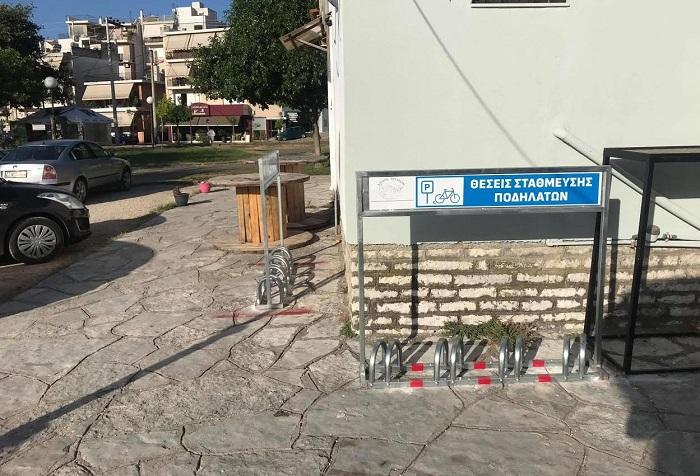 Θέσεις στάθμευσης ποδηλάτων στην Άρτα
