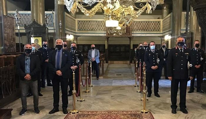 Η Αστυνομία τίμησε τον Άγιο Αρτέμιο