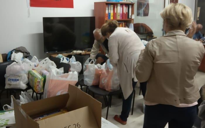 Αποστολή αλληλεγγύης σε Καρδίτσα και Μυτιλήνη