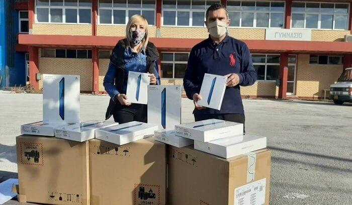 Tablet στους μαθητές μοίρασε ο Δήμος Πάργας