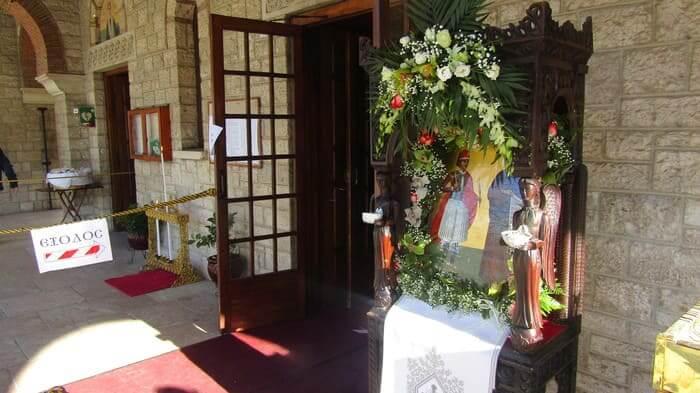 Η Μητρόπολη γιορτάζει την ανακομιδή λειψάνων του Αγίου Γεωργίου