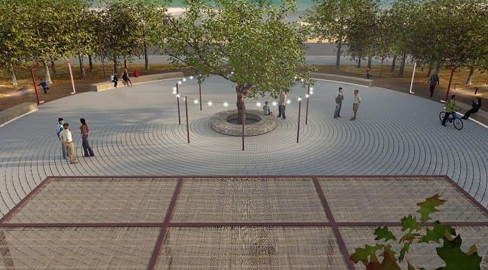 Νέα κι εντυπωσιακή πλατεία θα αποκτήσει η Αμμουδιά