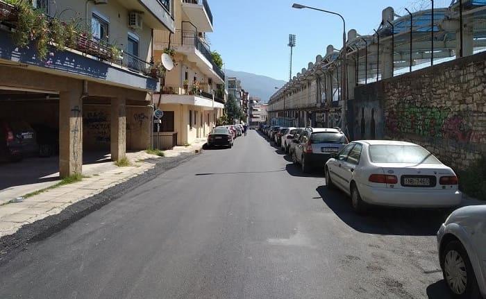 Ασφαλτοστρώσεις σε δρόμους των Ιωαννίνων