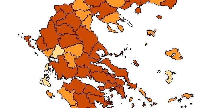 5.986 κρούσματα στην Ήπειρο από την έναρξη της πανδημίας