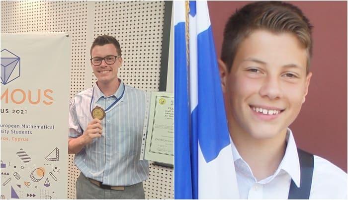 Δύο αδέλφια σαρώνουν στους μαθηματικούς διαγωνισμούς!