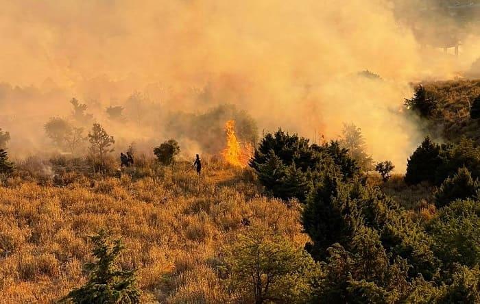 Αυξημένος  κίνδυνος πυρκαγιάς, εκτός Ηπείρου ισχυρές δυνάμεις