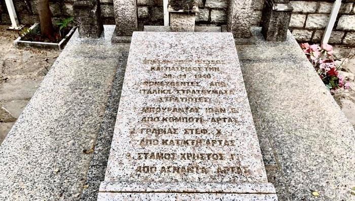 Έκλεψαν οστά Ελλήνων πεσόντων το 1940!