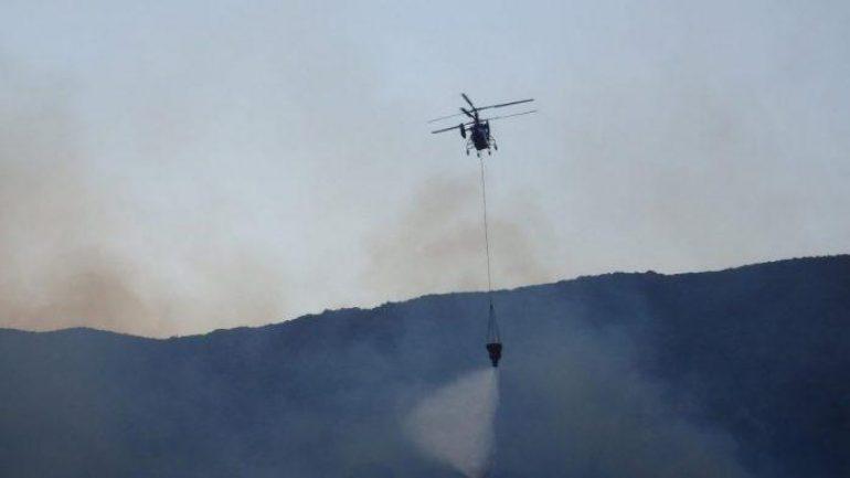 Επίγειες κι εναέριες δυνάμεις για δύο φωτιές στη Θεσπρωτία