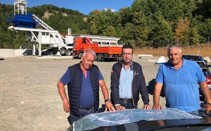 Εργοτάξια του Ε-65 στα Γρεβενά