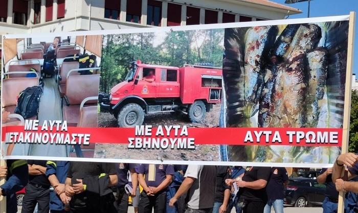 Τρεις εικόνες από το καλοκαίρι των πυροσβεστών..