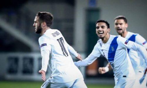 UEFA NATIONS LEAGUE 2020 / ÌÏËÄÁÂÉÁ - ÅËËÁÄÁ (ÖÙÔÏÃÑÁÖÉÁ: EUROKINISSI)