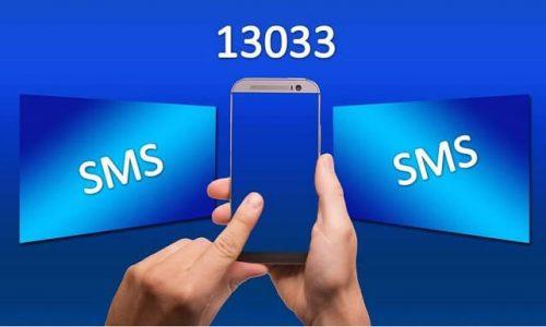 sms 13033